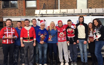 Seraphim were proud to support Christmas jumper day on Friday 18th December 2015