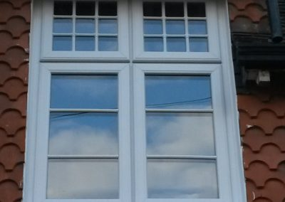 Window replacement in period cottage