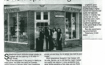 Seraphim Hair Design is now open in Lingfield