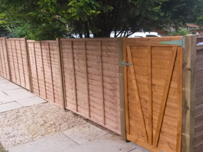 Boundary fence replacement for residential care home