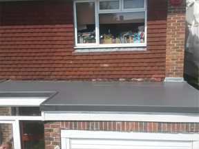 Replacement of garage flat roof