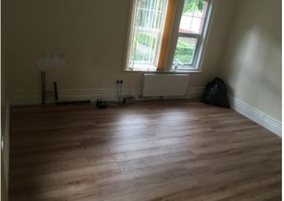 Large room refurbishment