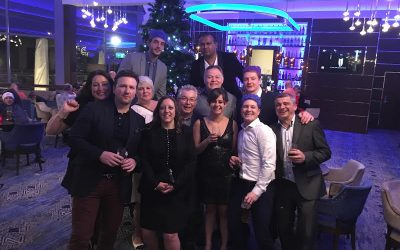 Seraphim Celebrate in Style at Christmas Party 2016