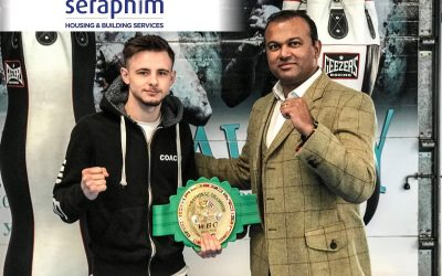 Seraphim Group UK Headline Sponsor Muay Thai Mayhem